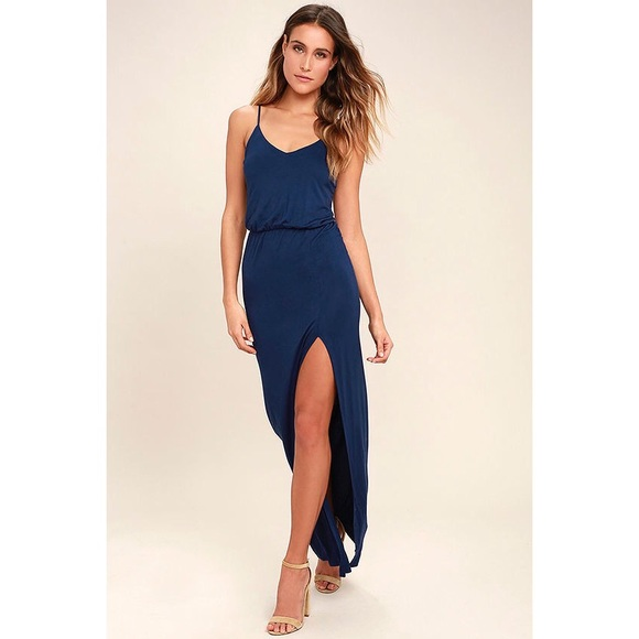 2488c4b26ff41 Lulu's Watch the Sunset Maxi Dress